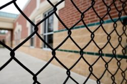 Commercial fencing helps improve security around major buildings