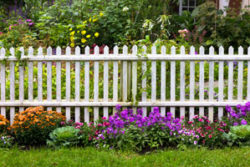 Garden Fence Installation in Fairfield