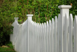 Picket fence design in Norwalk