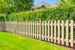 wood fence installation in Fairfield