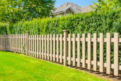 wood fence installation in Fairfield